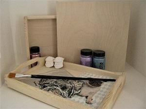 Handverzierte Holz- und  Multiplex - Artikel für Mops - Freunde